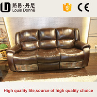 Shenzhen factory price good quality mexico leather sofa furniture