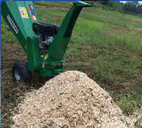 Electric start wood chipper and wood shredder chipper ,wood chipper machine sell