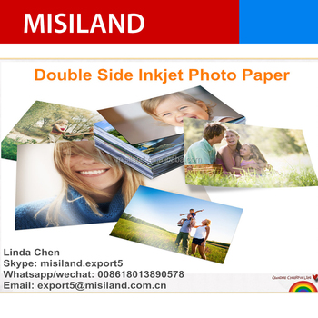 Professional Dual Side Premium High Glossy Inkjet Photo Paper ( RC base ) 300g