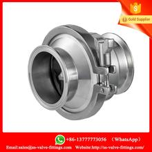 Check Valve DN25 CLAMP Material SS304 Sanitary check valve with high quality