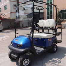 Excellent performance New mini electric glf cart with chrome golf cart wheel cover
