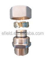 sanitary fitting, copper compression pipe fitting, plumbing fitting