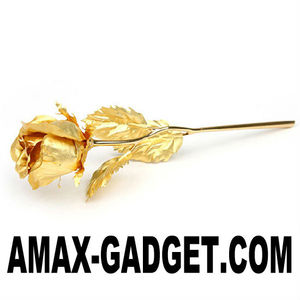 LF-520 gold foil rose 24K Gold Foil Perfect Gift for Valentine (be in bud)