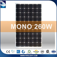1000V Flexible Best Price Per Watt Solar Panels 260W