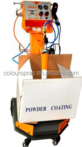 Vibration manual spray system electrostatic powder coating equipment