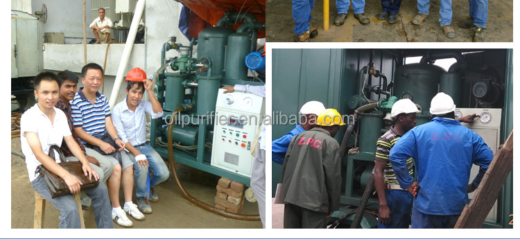 Vacuum Onsite Industrial Oil Filling, Lube Oil filtering, Oil Processing