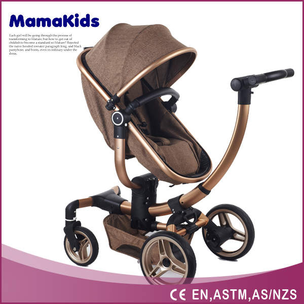Good quality Baby Stroller 3 in 1 with EN baby stroller 3 in 1 multifunction easy foldable baby stroller