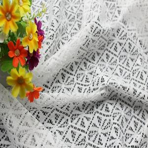 new design lace cheap 300d polyester fabric rolls fashion trimming stretch ladder