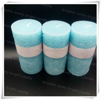 adhesive decorative candles