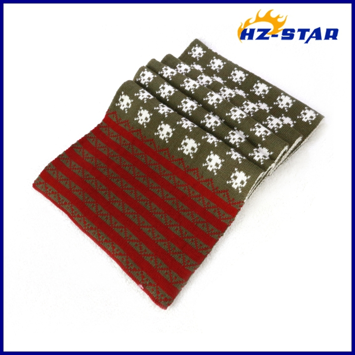 HZW-13272016 new design popular double comfortable large jacquard liverpool scarf