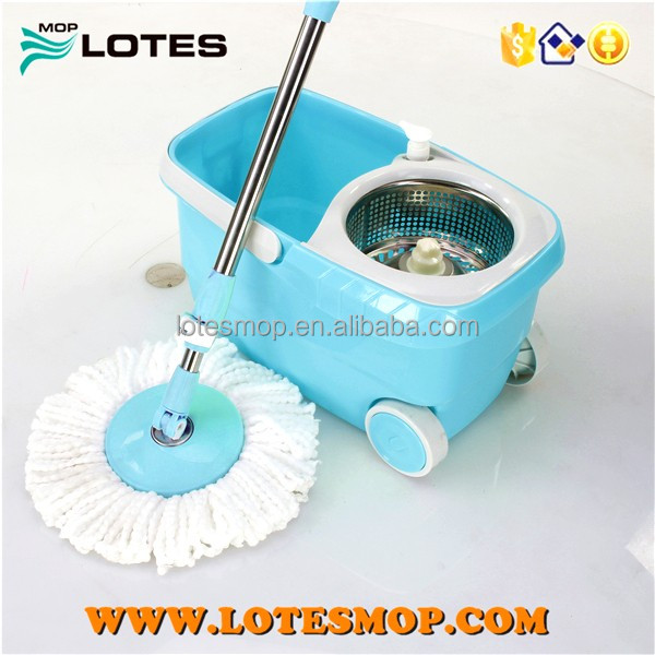 hot double devices 360 degree folding bucket spin mop