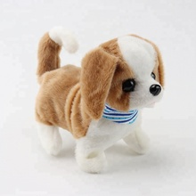 Senjohn battery operated <strong>animal</strong> walking dog with scarf plush toy for kid