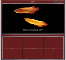 high quality glass aquarium fish tank with LED lighting