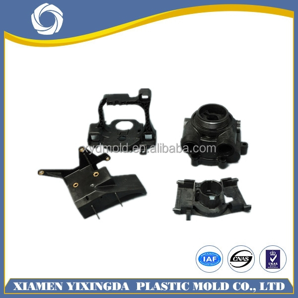 2015 OEM &DOM accepted plastic products with insert molding, overmolding plastic injection molding