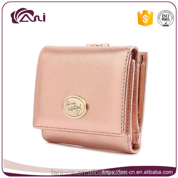 4 colors sheepskin mini coin purse for ladies