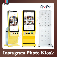 Great Marketing Opportunities Electronic Self-Service Kiosk Display Stand Trade Show Photo Booth