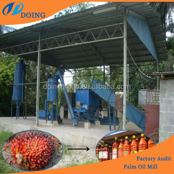 Palm oil making machine/palm oil milling process