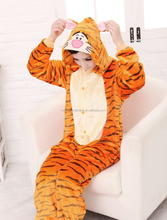 Animal <span class=keywords><strong>de</strong></span> la historieta Onesie Traje King Tiger <span class=keywords><strong>Pijamas</strong></span> Adultos Onesie <span class=keywords><strong>Pijamas</strong></span>