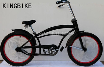 "24"" chopper bike fat tyre beach cruiser bicycle"