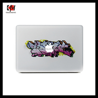 2016 new design vinyl laptop skin for macbook