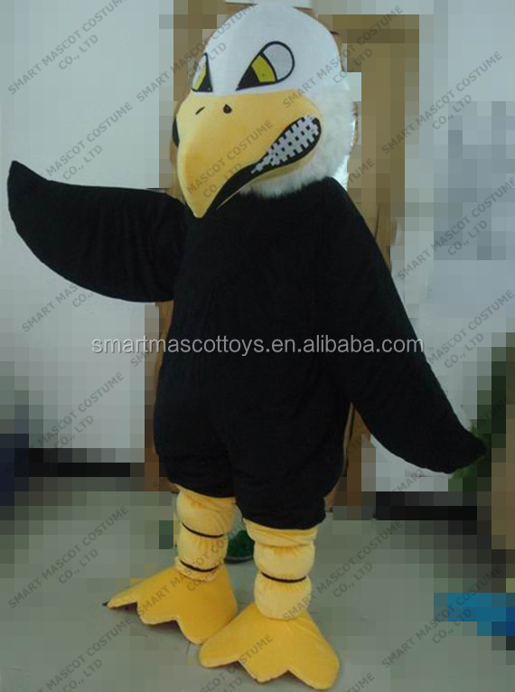 Good ventilation soft plush hawk mascot for all unisex gender adult hawk mascot