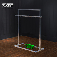 ZJF Hot sale metal display rack for hanging items