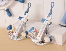 Thermometer boat anchor crafts home decoration