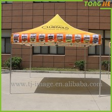 Outdoor sun shade waterproof display stand cheap pop up tent