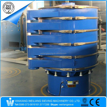 rotary vibration separation screener machine for grading filter