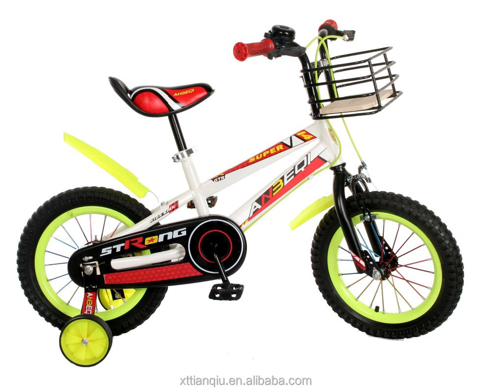 hot sale steel frame beautiful children child kids exercise bike bicycles