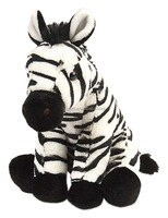 12 Inch Baby Zebra Animal Stuffed Toy