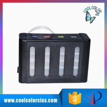 Empty ink tank kits for diy CISS and for all inkjet printers 4 colors or 6 colors ink box with switch