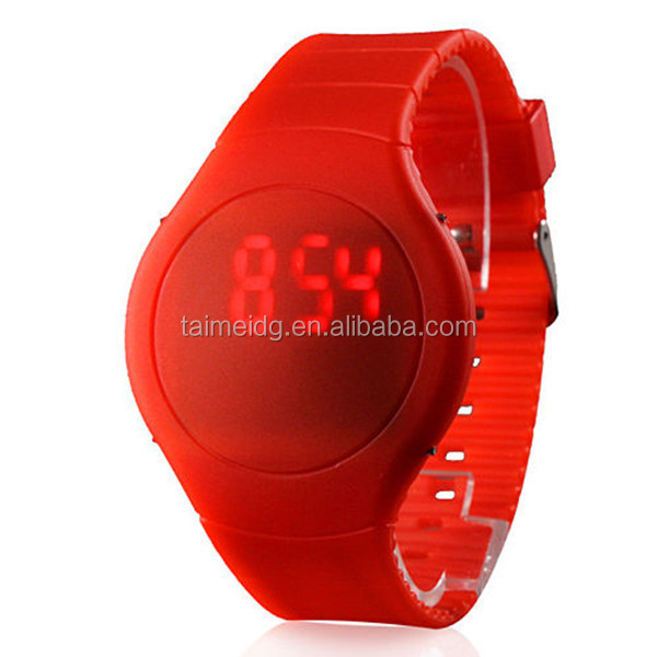 2015 lovely style waterproof round led watch instructions