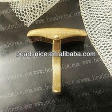 Brass CUff Link Findings wholesale alibaba custom cufflinks blanks