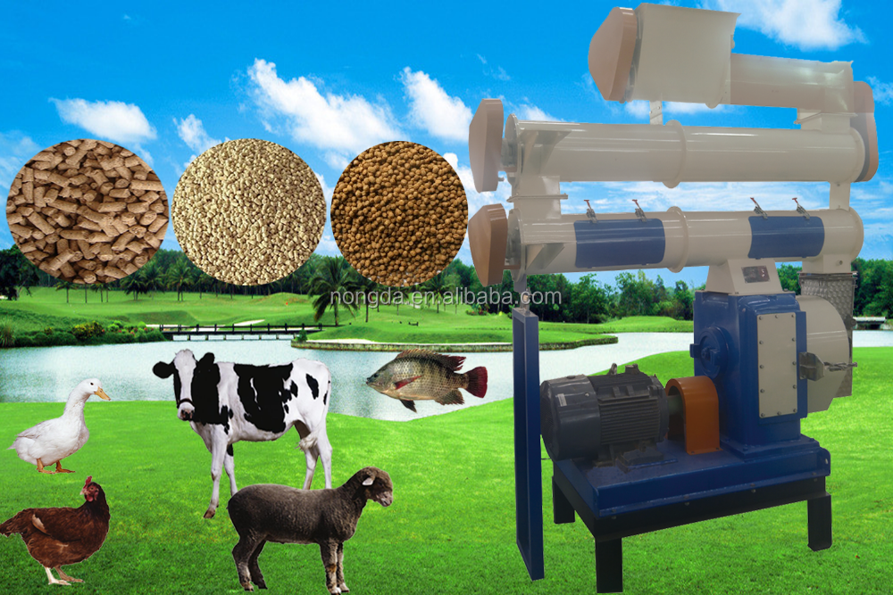 cost-saving dairy cattle feed pellet plant