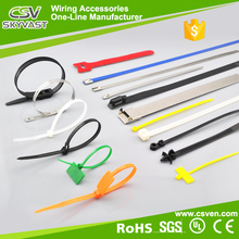 "Manufacturer 4"" 6"" 8"" 10 inch black cable tie white free sample self lock plastic tree tie with certificate"