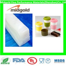 Price of silicone rubber compound for silicone cup lid and cover