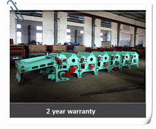 Bleached cloth/cotton textile waste recycling machine line