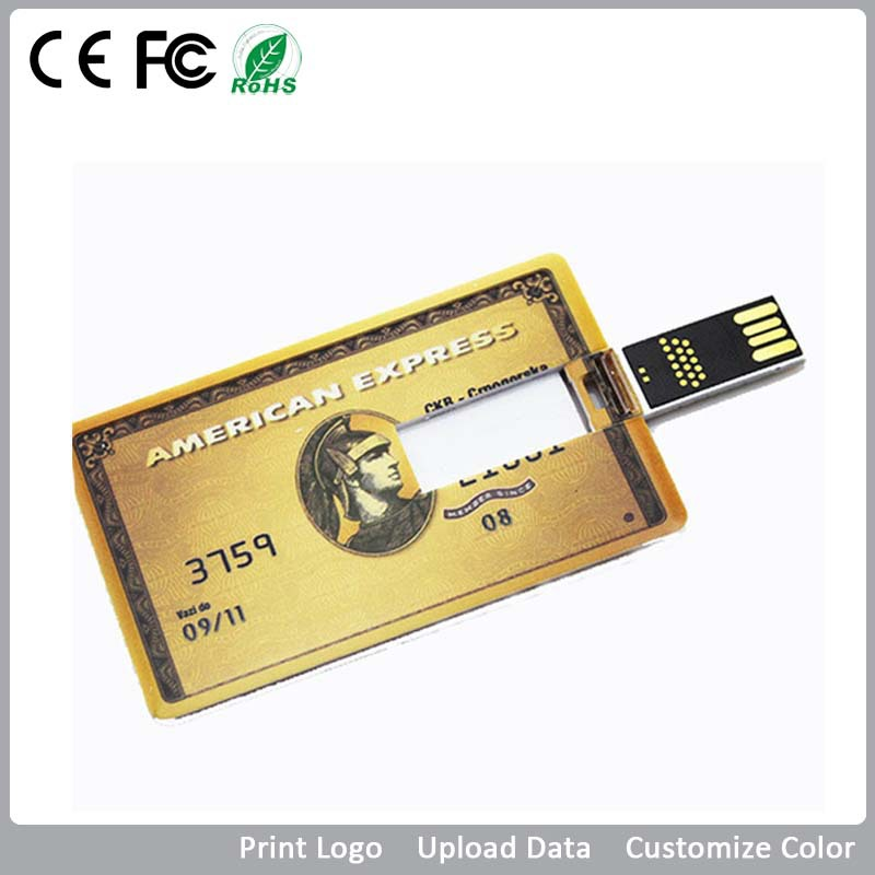 Business Card Usb Memory Disk Full Color Logo Real Storage