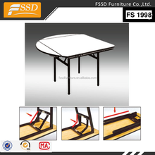 Factory Restaurant Banquet Round Square plywood Table