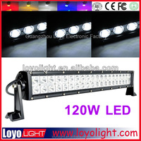 12v led light bar 120w auto led off road driving light for trucks car roof fog lamp 4x4