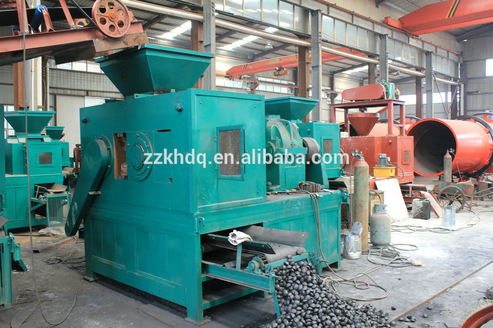 High performance anthracite coal powder ball press machine aluminum briquetting make machine