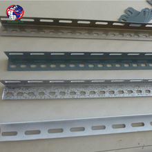 Low price Galvanized Slotted angle racking iron