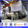 2016 new condition rolling paper production machinery complete production line of kraft paper making machinery