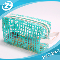 Transparent Promotional Gifts Waterproof Ziplock Cosmetic PVC Bag