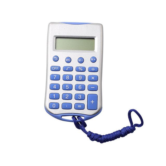 8 Digit Children Pocket Calculator with Lanyard