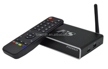 RAM 2GB amlogic s812 quad core android 4.2 smart tv box F8 support H.265