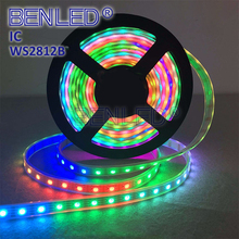 Addressable Full Color WS 2812B DC 5V Magic Full Color RGB 30 60 144 Leds Flexible LED WS2812B IC Strip Light