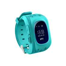 New item kids gps tracker with high definition two way communication kids security smart watch