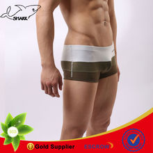 Multicolor male lingerie sexy men boxers underwear knitting inner wearing